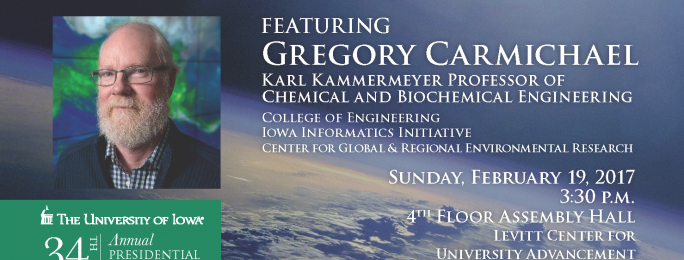 Dr. Carmichael Presidential Lecture Poster