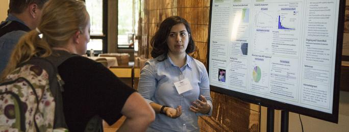 Negin Sobhani wins poster award