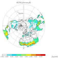 Asia BC emission data