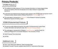 Primary Products overview
