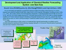 Weather Forecasting over East-Asia