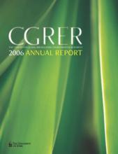 CGRER 2006 annual report