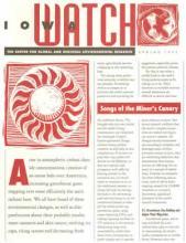 CGRER spring 1995 newsletter